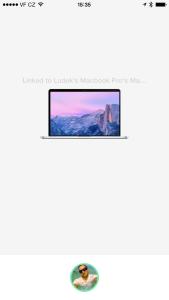 Knock zamčení Mac
