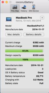 základní informace o Macu